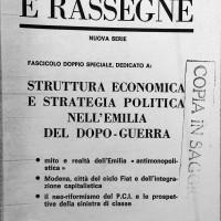 """""""Note e rassegne"""", 1971, Archivio Istituto storico di Modena"""