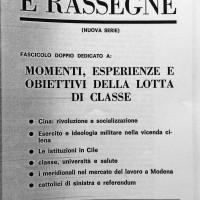 """""""Note e rassegne"""", 1973-1974, Archivio Istituto storico di Modena"""