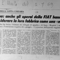 """""""L'Unità"""", 2 luglio 1969"""