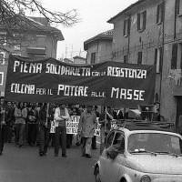 Cesena, 1973 manifestazione contro il colpo di stato in Cile. Fondo Maurizio Benzi (9)