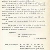 Assemblea studenti-genitori in Teatro comunale, 20 novembre 1968, Archivio Istituto storico di Modena