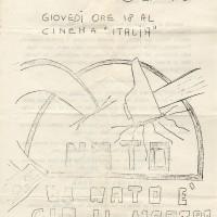 FGCI Cinema Italia: Locandina dell'incontro \