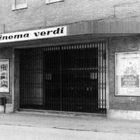 Ingresso del Cinema Verdi a Parma.