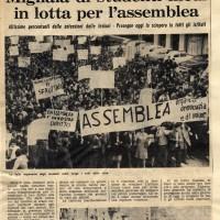"""""""L'Unità"""", 15 novembre 1968"""