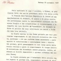 Documenti del Consiglio comunale di Modena