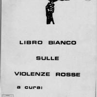 Libro bianco sulle violenze rosse, Fronte dellla gioventù diForlì, Fondo Piancastelli, Biblioteca comunale di Forlì.