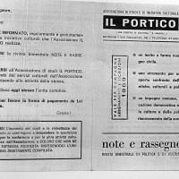"""""""Note e rassegne"""", 1969, Archivio Istituto storico di Modena"""