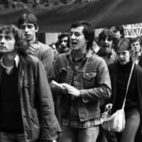 Manifestazione studentesca a Cesena (Fondo Benzi)