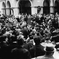 Sit-in studentesco, Modena, 6 dicembre 1968, Archivio Istituto storico di Modena