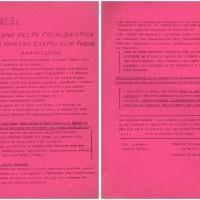 """Archivio Privato Giovanni Passera, b. 2, """"Natale: non una festa folkloristica ma un impegno contro ogni tipo di oppressione"""", 22 dicembre 1971. Volantino ciclostilato"""