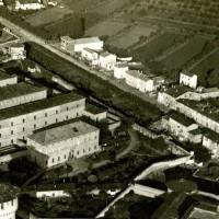Carceri di Forlì, veduta aerea.