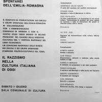 Convegno nazionale, volantino, Archivio Istituto storico di Modena