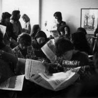 Un gruppo di femministe, Modena, sd., Fondo Anna Rosa Bassoli, Centro documentazione donna