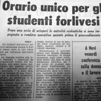 Vittoria degli studenti dell_ITI ( L'Unità, 8 novembre 1967)