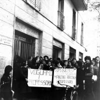 Manifestazione studentesca, novembre 1968