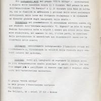 Documento prodotto dal gruppo Nuova scuola, con sede presso il Portico, Archivio Istituto storico di Modena