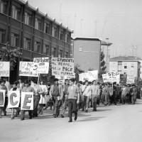 Manifestazione per la pace degli studenti dell'Istituto Fermi, Archivio Istituto storico di Modena