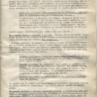 Documento sul teatro della Fgci modenese, 10 gennaio 1969, Archivio Istituto storico di Modena