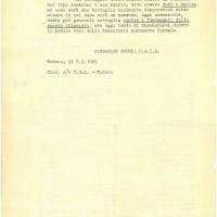 Volantino del sindacato Cgil-Scuola, 8 febbraio 1969, Archivio Istituto storico di Modena