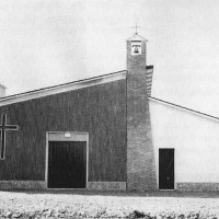 La chiesa del Villaggio artigiano