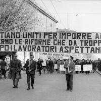 Manifestazione dei lavoratori, Archivio Istituto storico di Modena