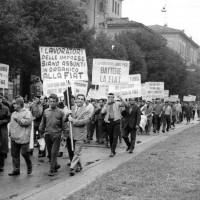 Manifestazione degli operai della Fiat, Archivio Istituto di Modena