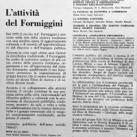 Relazione delle attività culturali del Formiggini per l'anno 1966-1967, Archivio Istituto storico di Modena