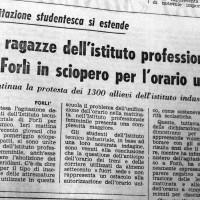 Si estende la protesta per l_orario unico (l'Unità, 27 ottobre 1967)