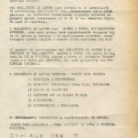 24.11.1968 – Ciclostile Nuovi strumenti di lotta, Archivio ISRIC Rimini