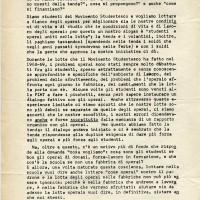Tenda della solidarietà, volantino, 28 luglio 1969, Archivio Istituto storico di Modena