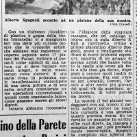 Libertà, 18 maggio 1969, pag 5 L'artista e l'albero vero, s.a [ma Nello Bagarotti]