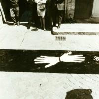 Franco Vaccari,  Happening per le strade di Fiumalbo, \