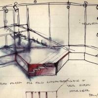 Nuova Scena debutta alla Casa del popolo di Sant'Egidio, disegni (Archivio Franca Rame)
