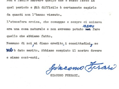 Fondo Giacomo Ferrari