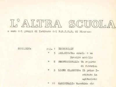 Fondo Archivio della Federazione del PSIUP di Piacenza (aggregato all'archivio del PCI di Piacenza)