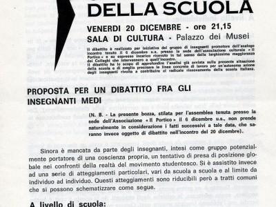 Fondo Associazione di studi e di iniziativa culturale Il Portico