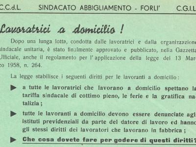 Fondo Archivio dell'Unione Donne Italiane di Forlì-Cesena
