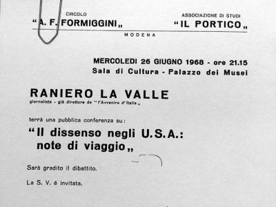 Circolo culturale A.F. Formiggini, piazza Mazzini, 23