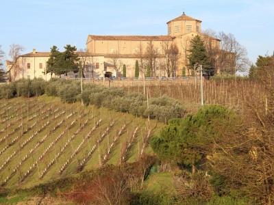 Abbazia di Santa Maria del Monte, via del Monte, Cesena