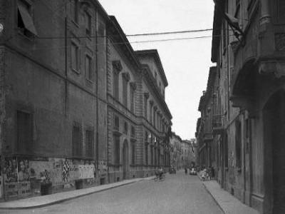 Palazzo Masdoni o ex Saporiti, via Toschi 23